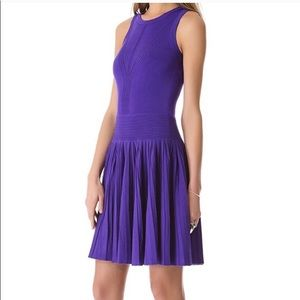 Milly of New York purple sweater dress